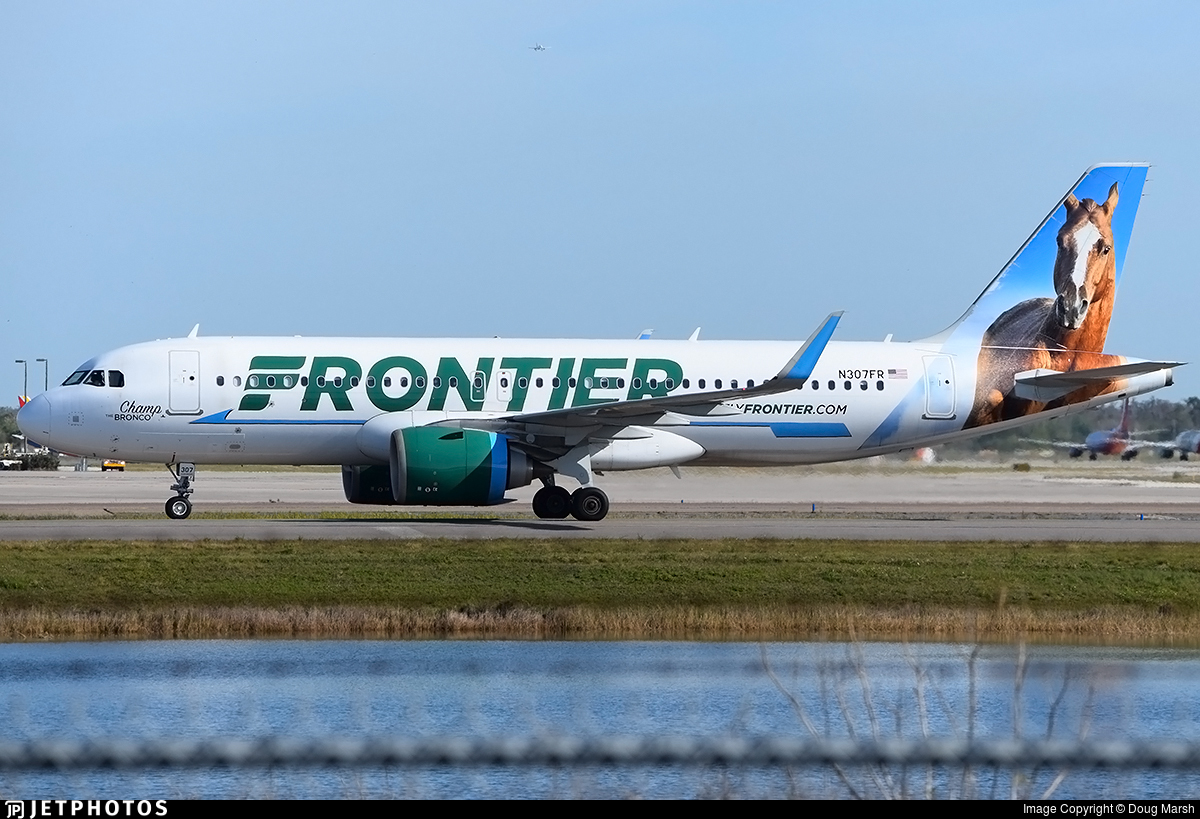N307FR - Airbus A320-251N - Frontier Airlines