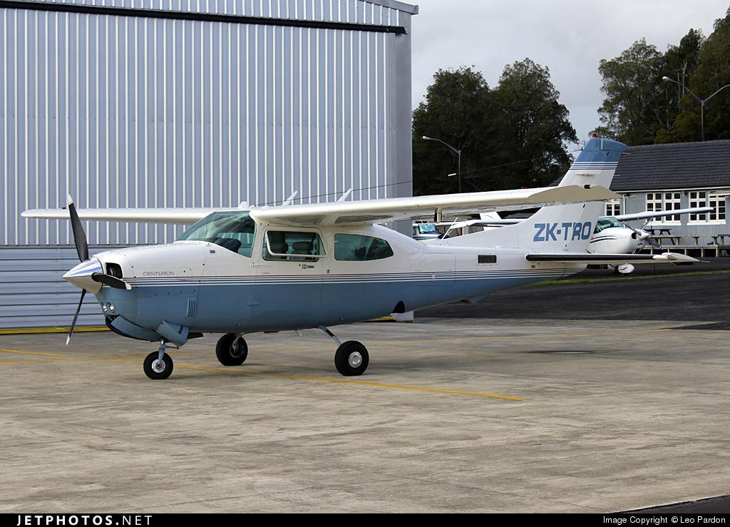 ZK-TRO - Cessna T210R Turbo Centurion II - Private
