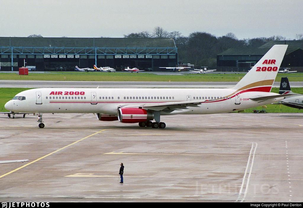 G-OOOM - Boeing 757-225 - Air 2000
