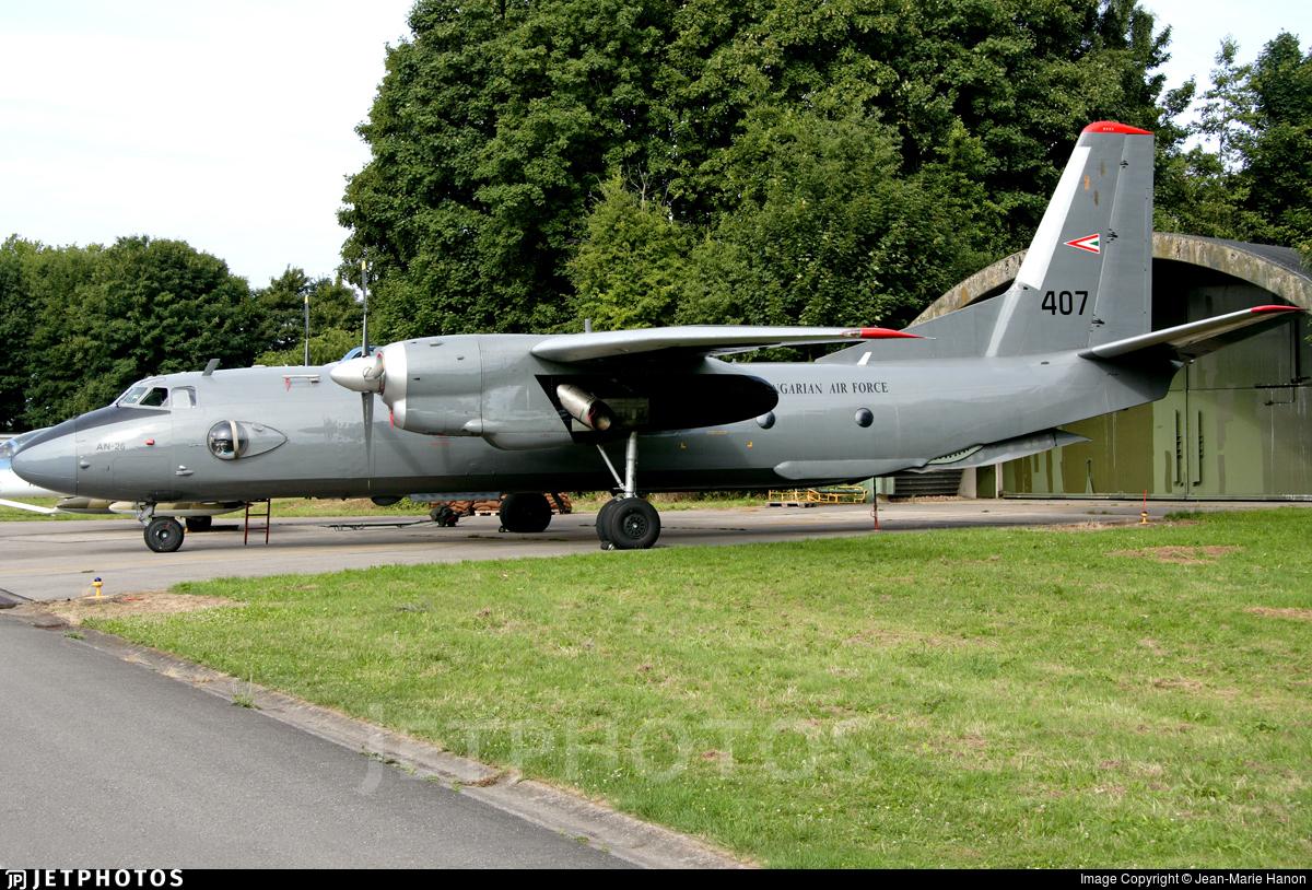 407 - Antonov An-26 - Hungary - Air Force