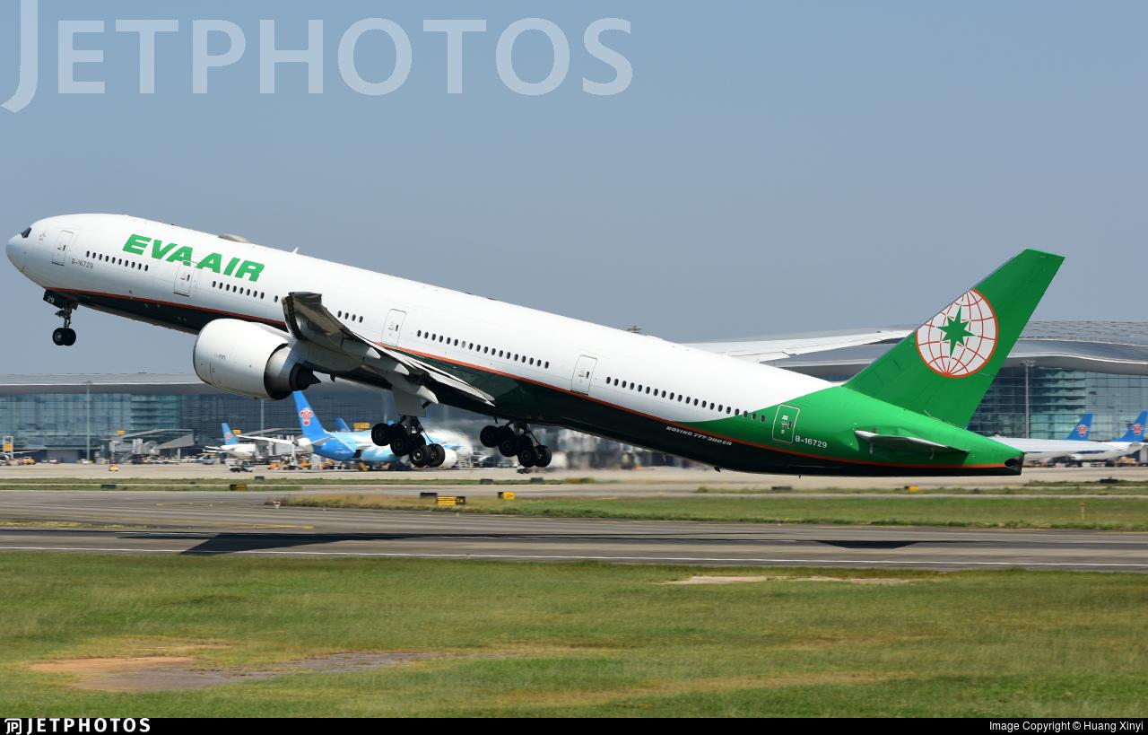 B-16729 - Boeing 777-35EER - Eva Air