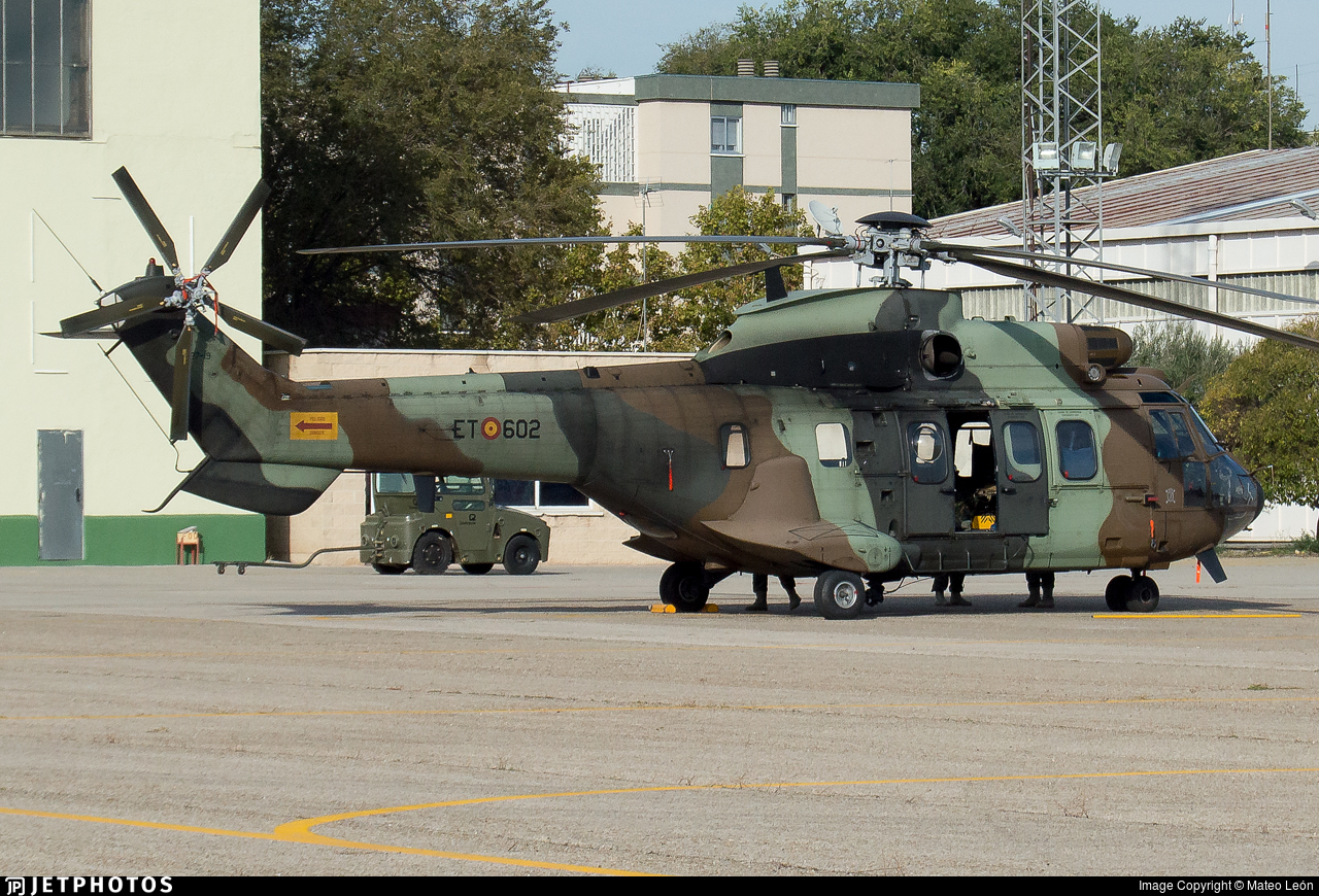 HT.27-19 - Eurocopter AS 532UL Cougar - Spain - Army