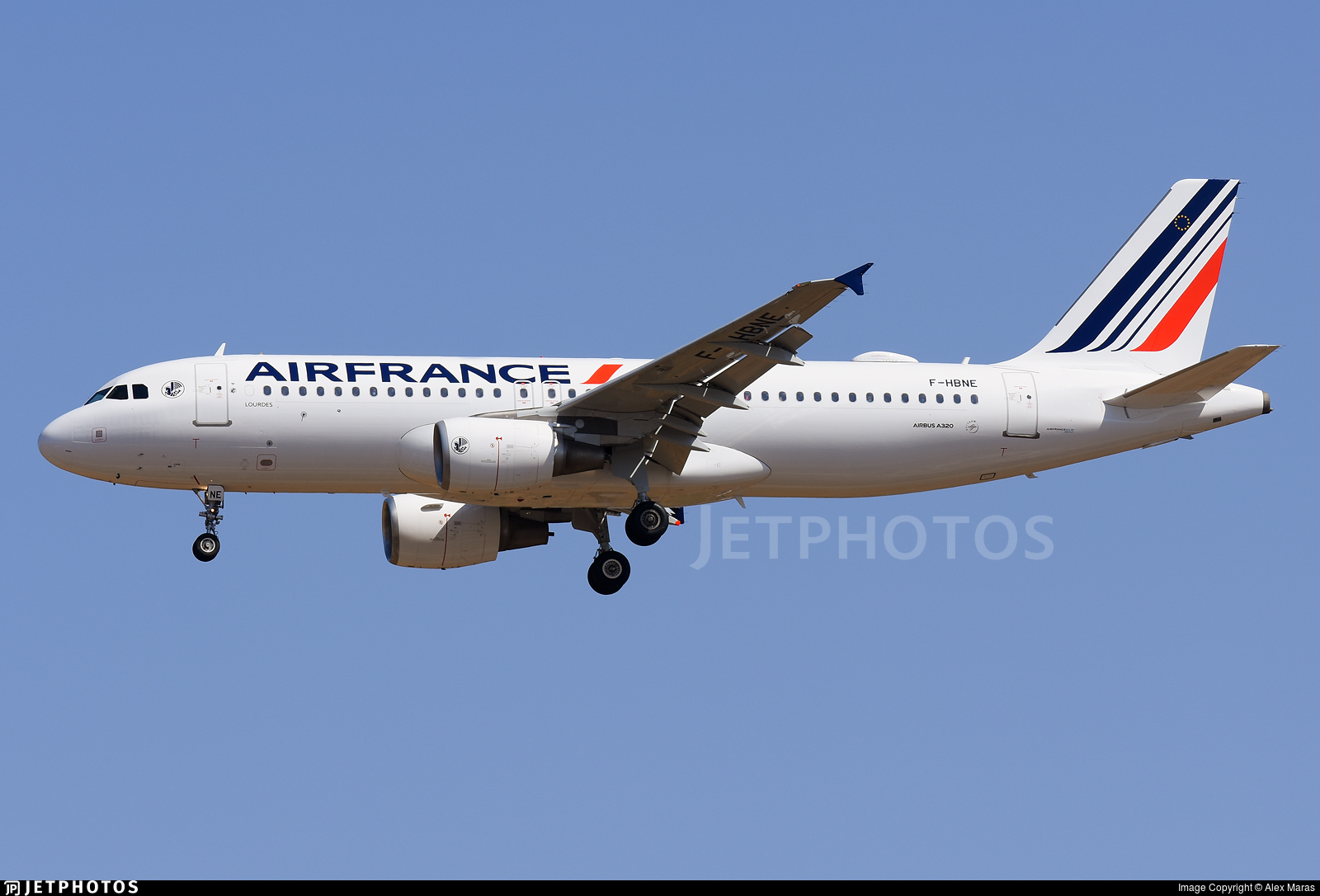 F-HBNE - Airbus A320-214 - Air France