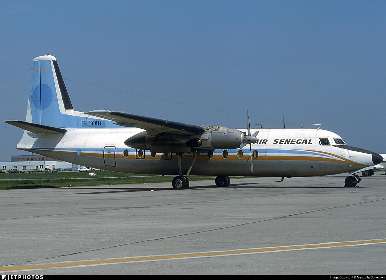 F-BYAO - Fokker F27-100 Friendship - Air Senegal