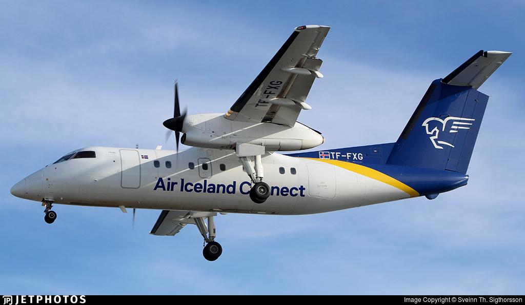 TF-FXG - Bombardier Dash 8-Q202 - Air Iceland Connect