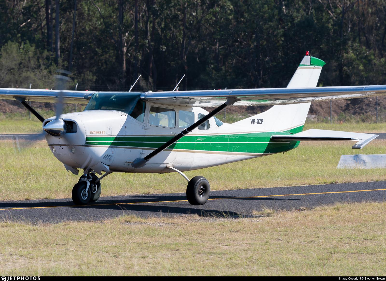 VH-OZP - Cessna TU206F Turbo Stationair - Private