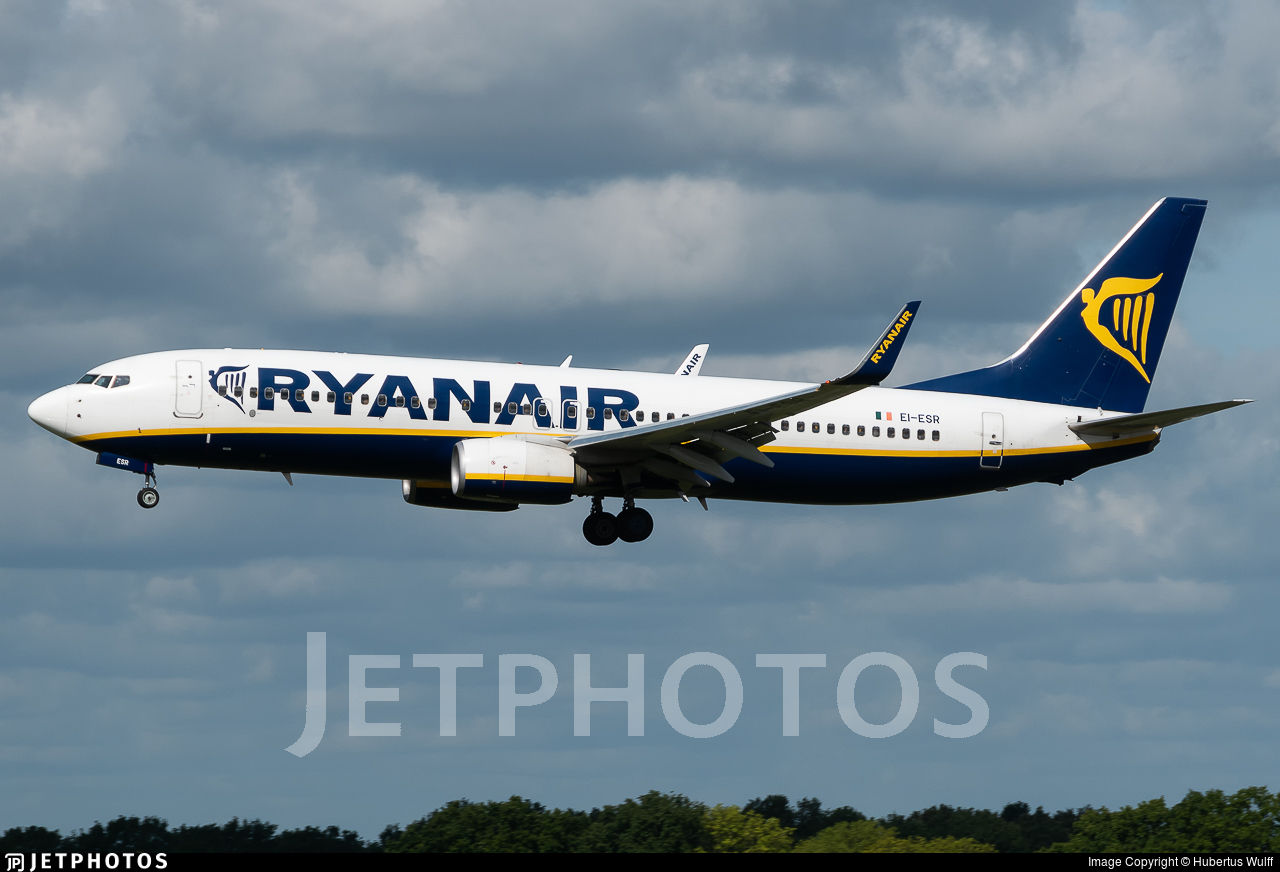 EI-ESR - Boeing 737-8AS - Ryanair