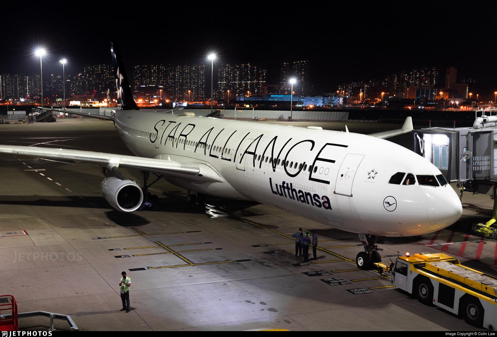 D-AIGP - Airbus A340-313X - Lufthansa