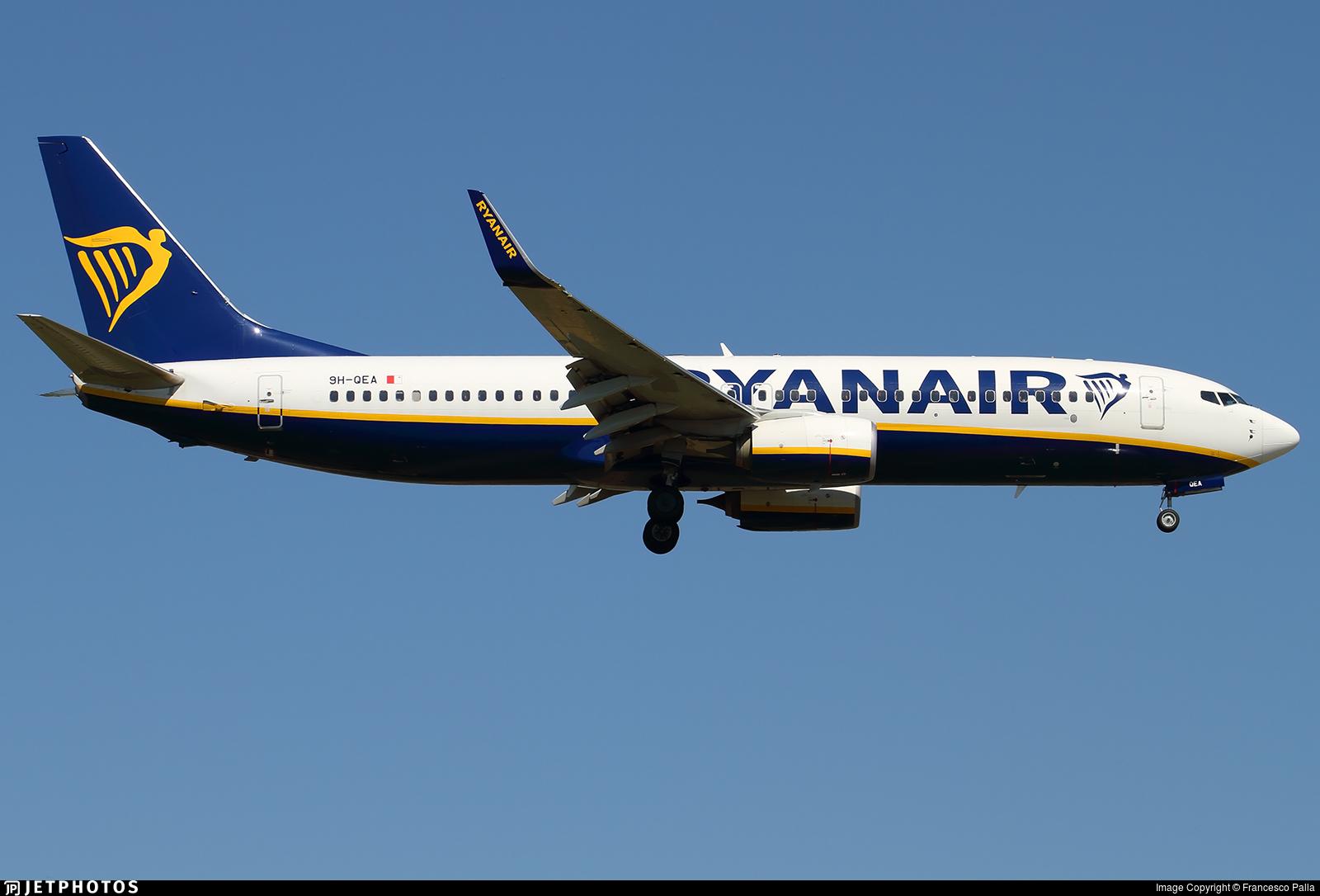 9H-QEA - Boeing 737-8AS - Ryanair (Malta Air)