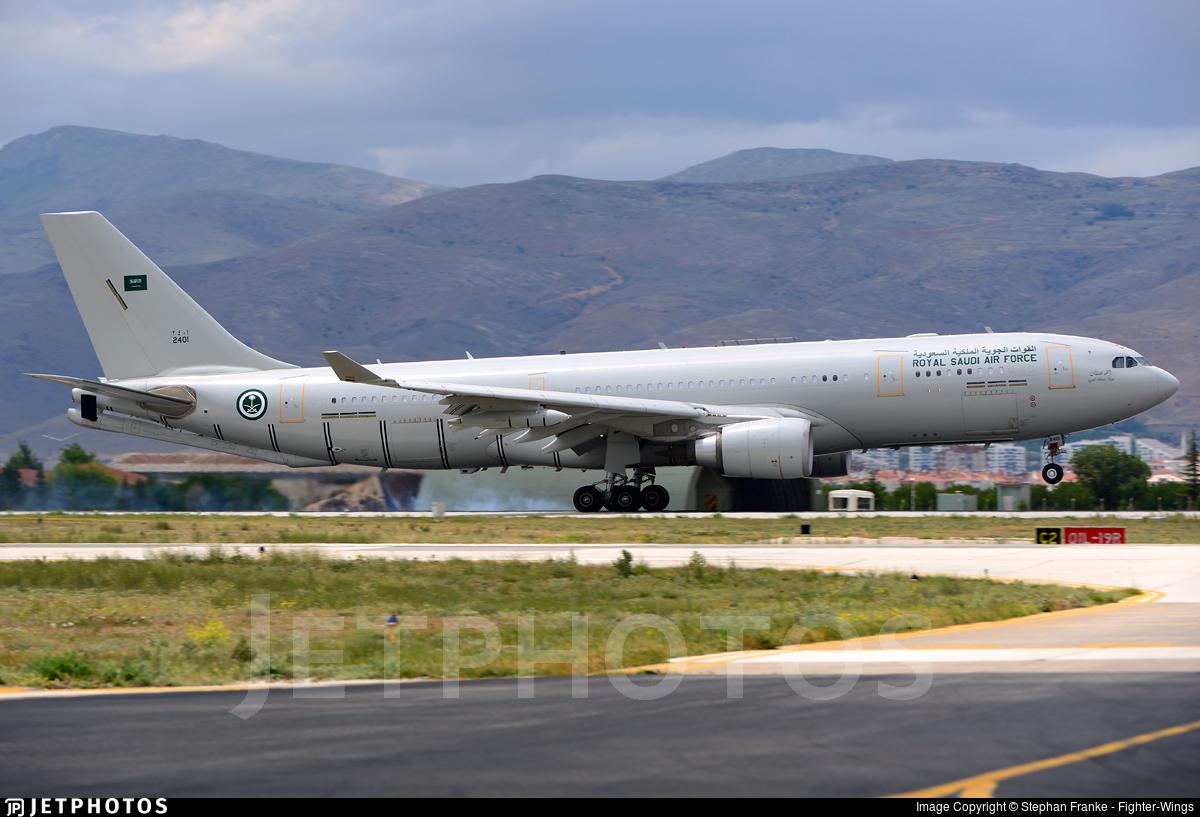 2401 - Airbus A330-243(MRTT) - Saudi Arabia - Air Force