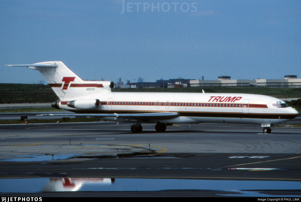 N920TS - Boeing 727-225 - Trump Shuttle