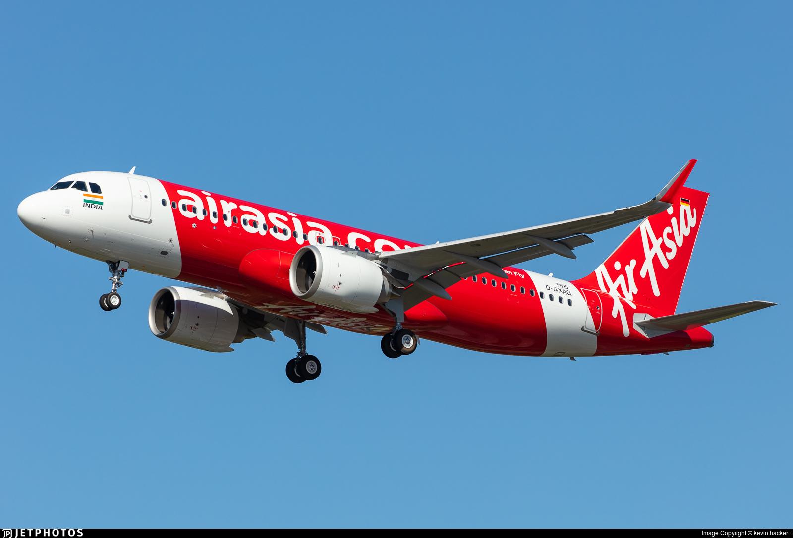 D-AXAQ - Airbus A320-251N - AirAsia
