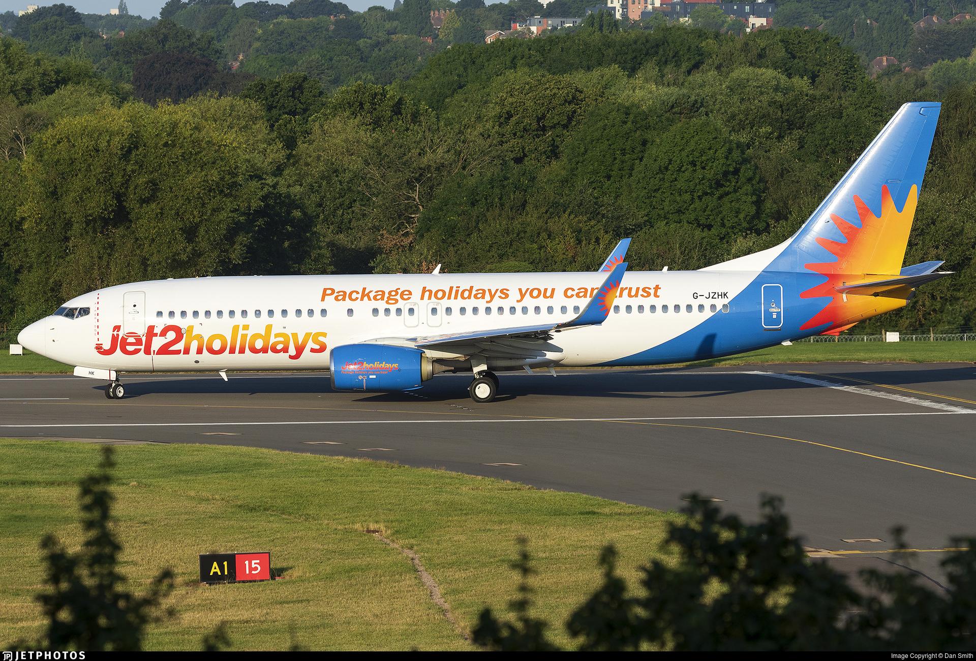 G-JZHK - Boeing 737-8MG - Jet2.com