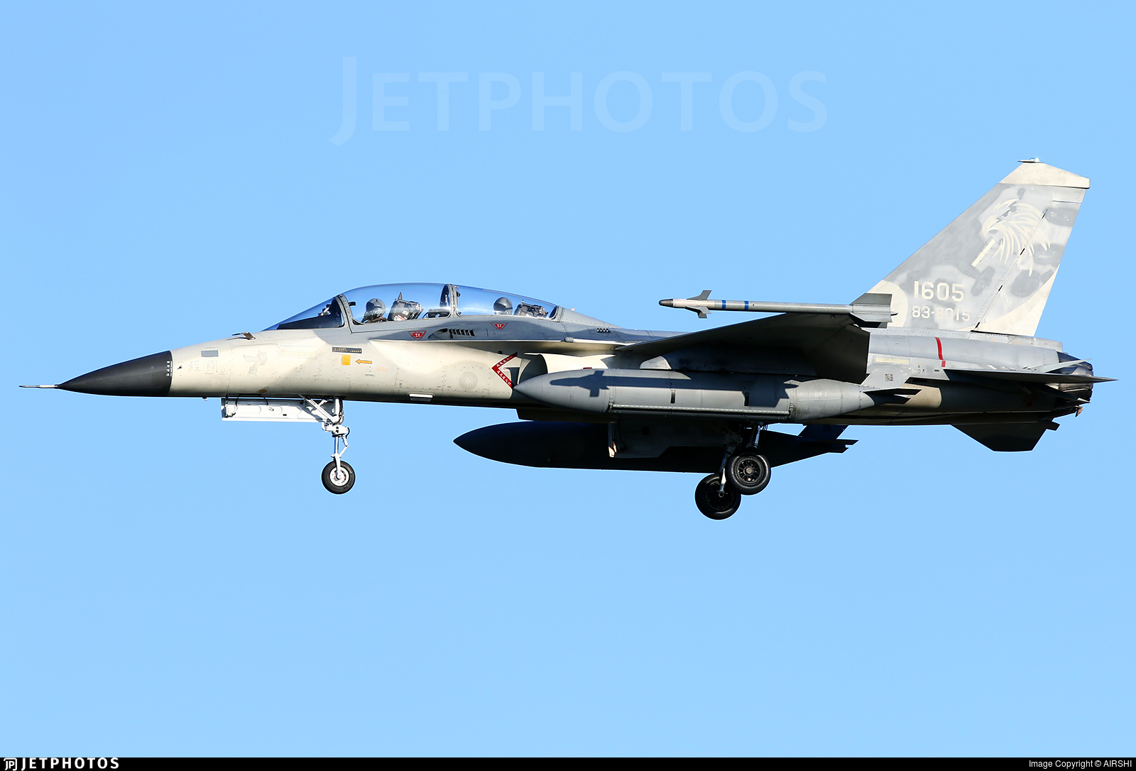 1605 - AIDC F-CK-1D Ching Kuo  - Taiwan - Air Force