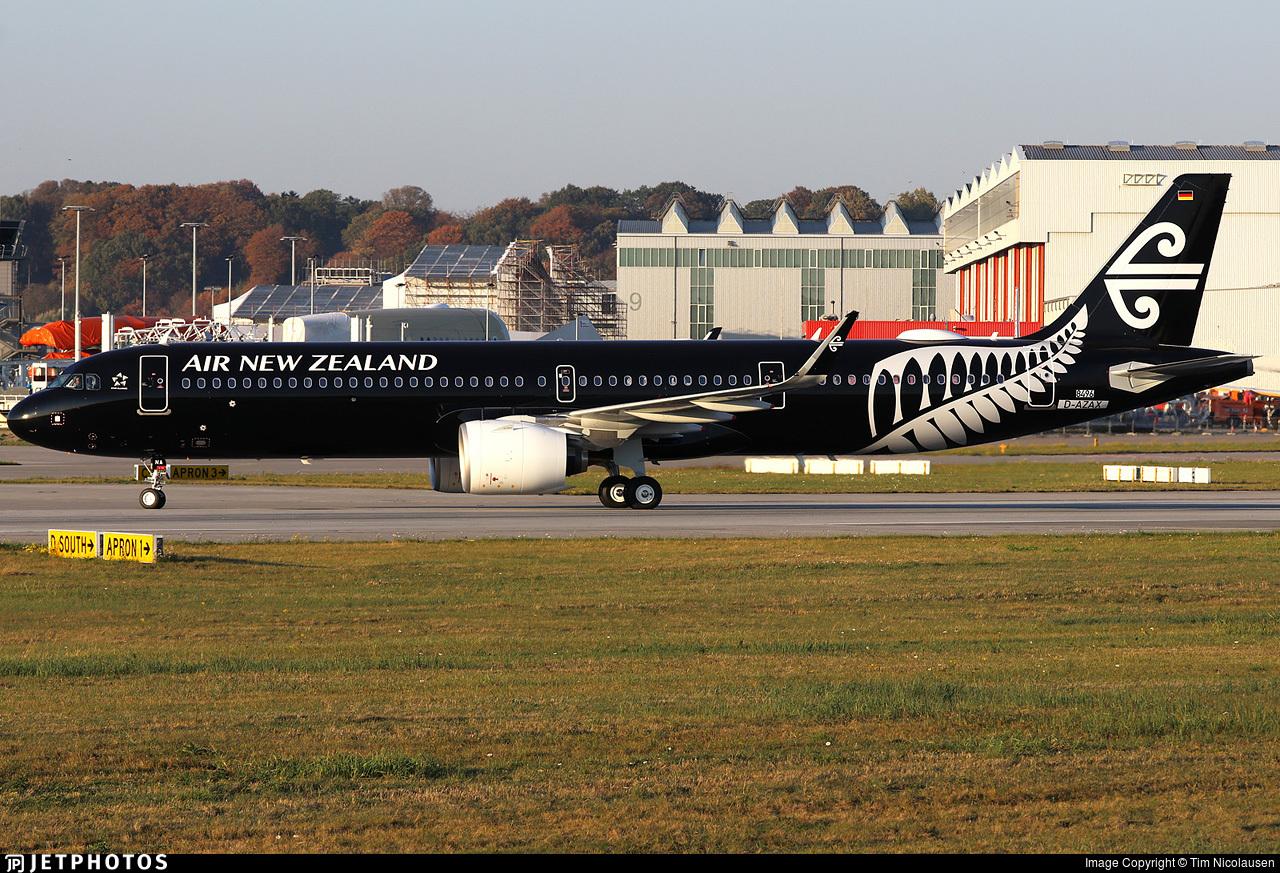 D-AZAX - Airbus A321-271NX - Air New Zealand