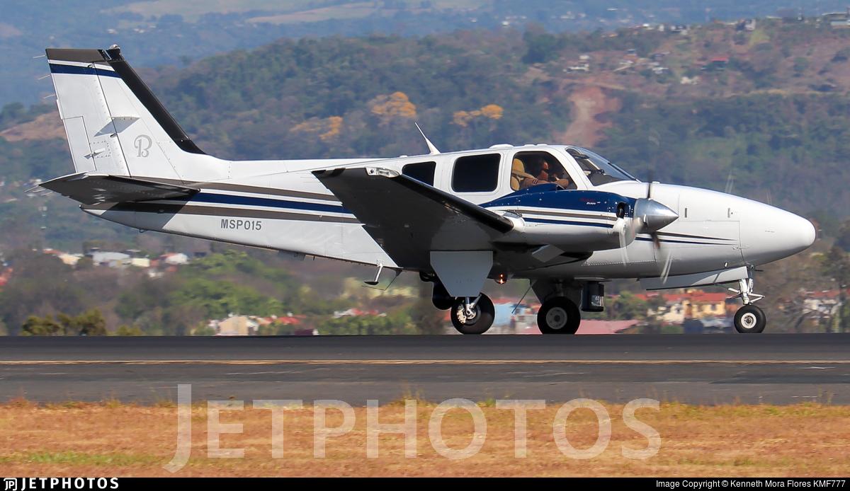 MSP015 - Beechcraft G58 Baron - Costa Rica - Ministry of Public Security