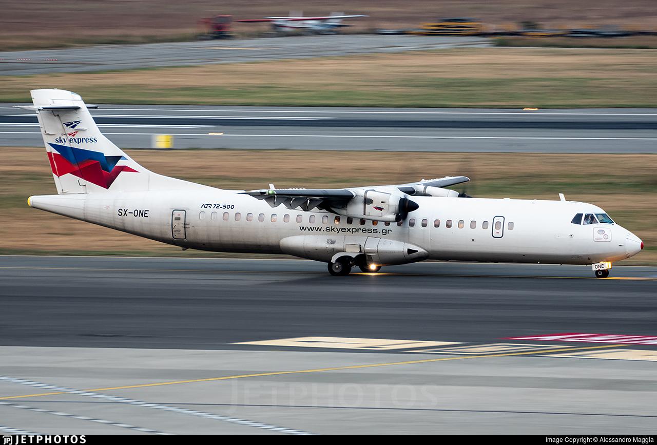 SX-ONE - ATR 72-212A(500) - Sky Express