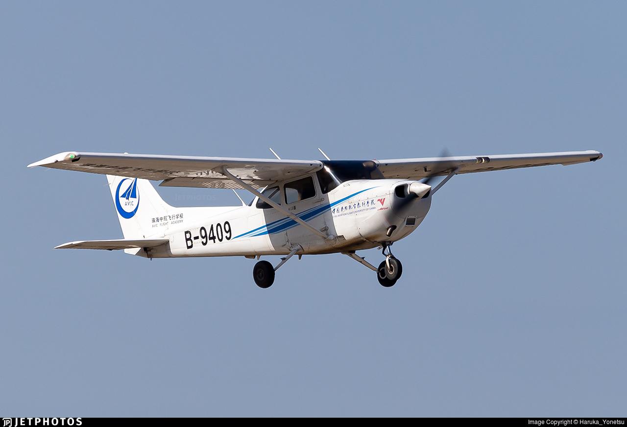 B-9409 - Cessna 172R Skyhawk - AVIC Zhuhai General Aviation