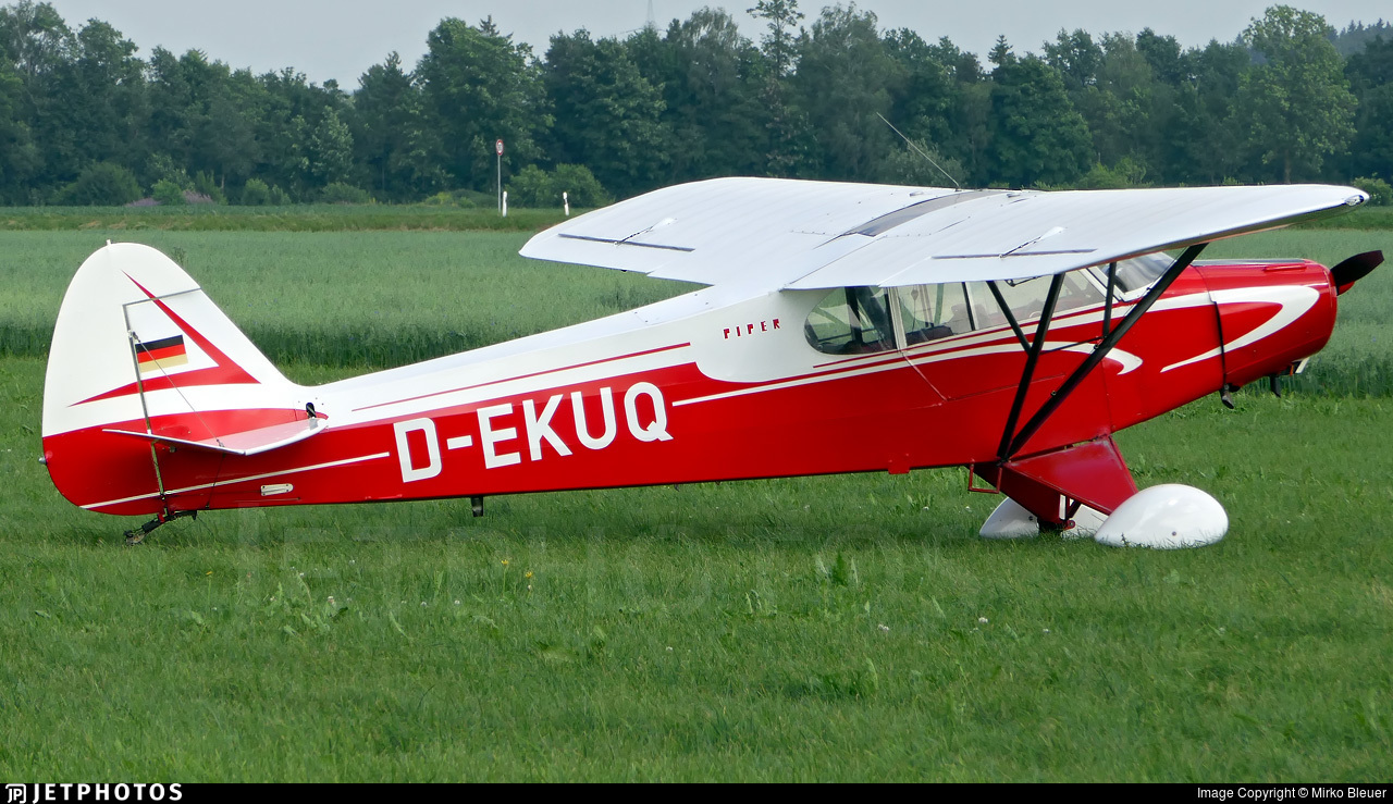 D-EKUQ - Piper PA-18-95 Super Cub - Private