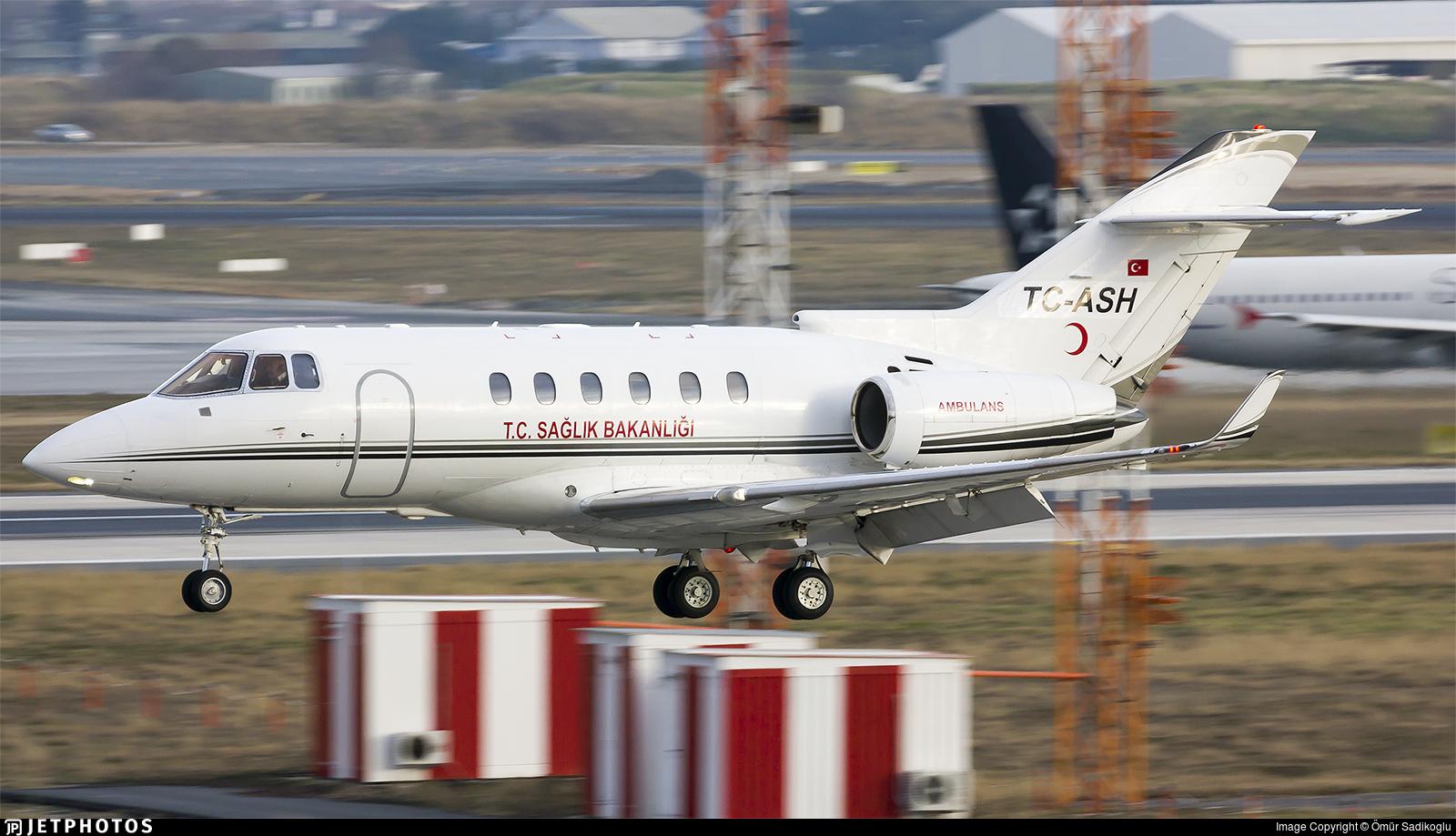 TC-ASH - Raytheon Hawker 900XP - Turkey - Ministry of Health