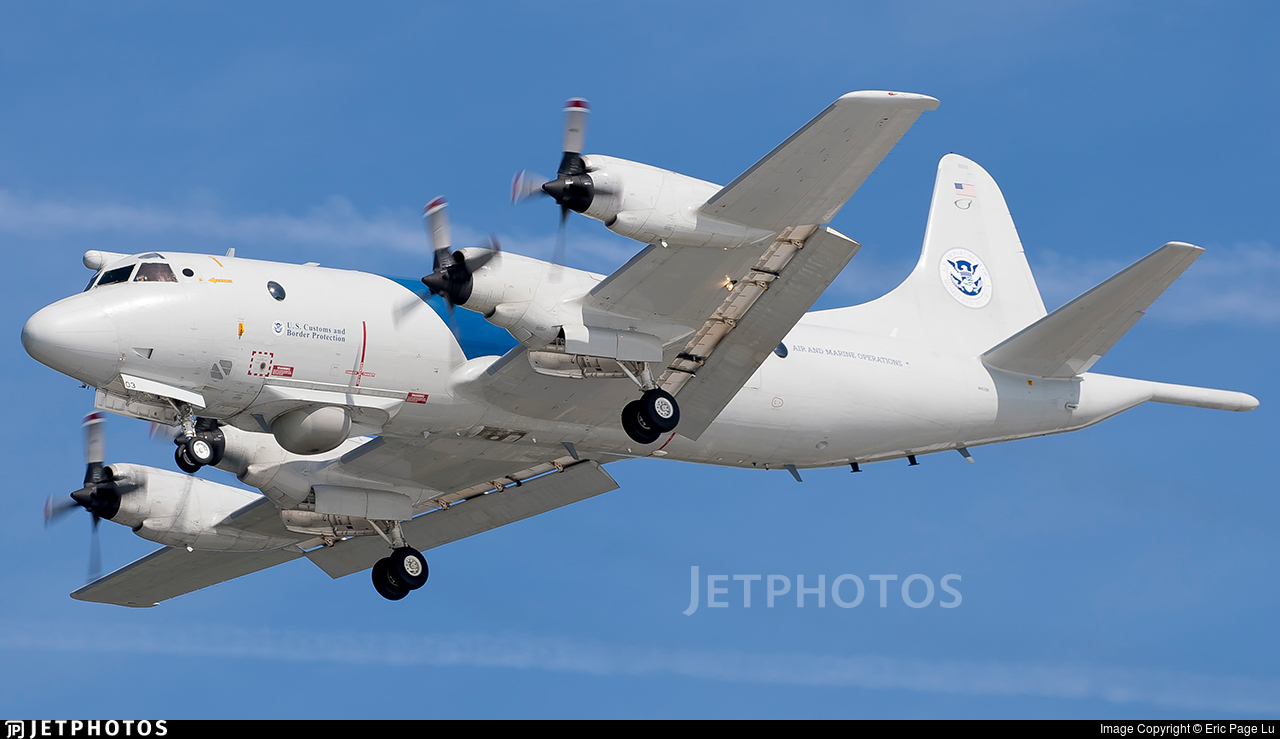 N403SK - Lockheed P-3B Orion - United States - Customs and Border Protection