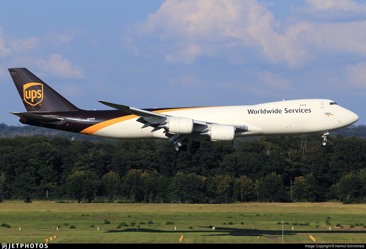 N616UP - Boeing 747-84AF - United Parcel Service (UPS)