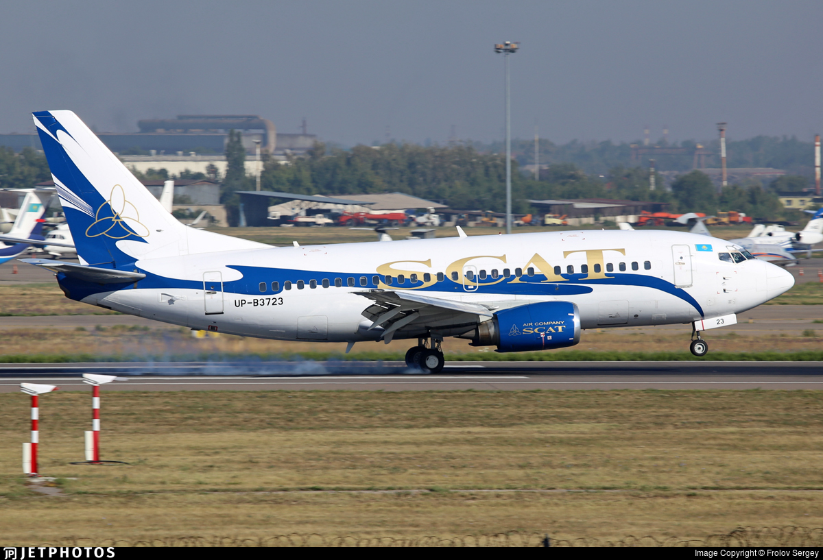 UP-B3723 - Boeing 737-522 - Scat Air Company