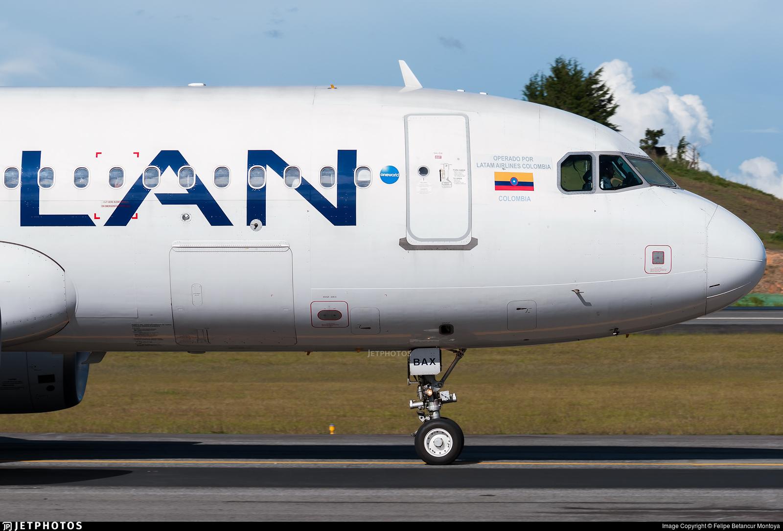 CC-BAX - Airbus A320-214 - LAN Airlines