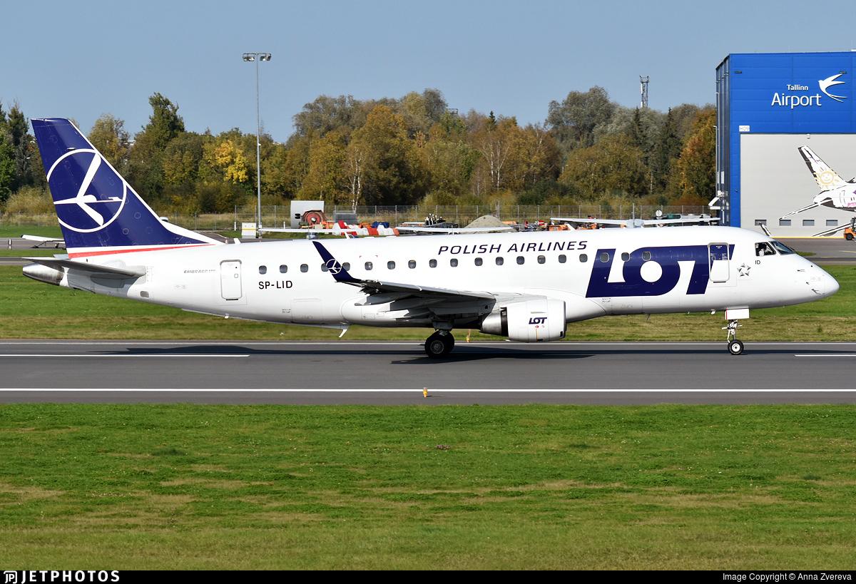 SP-LID - Embraer 170-200STD - LOT Polish Airlines