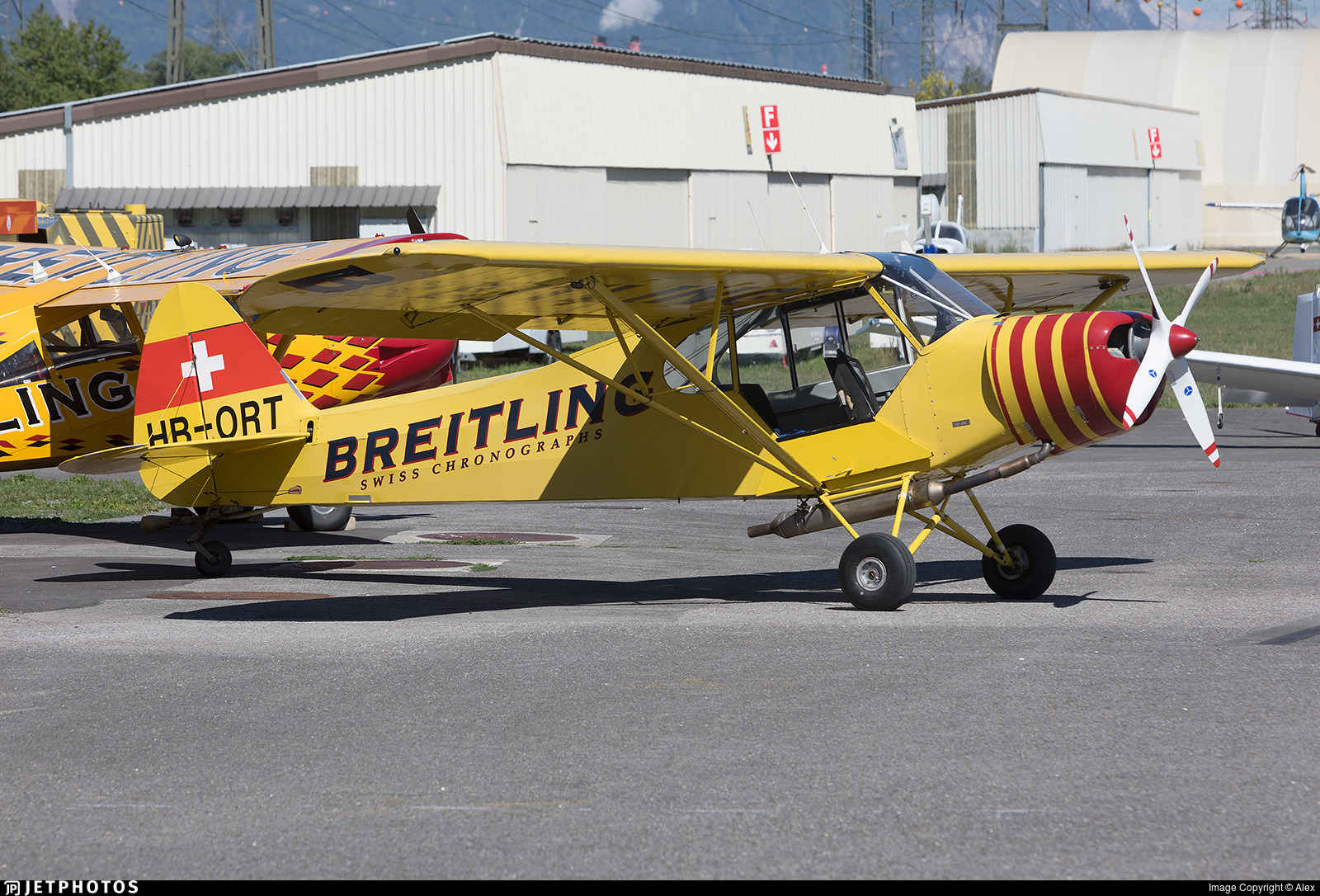 HB-ORT - Piper PA-18-180M Super Cub - Private