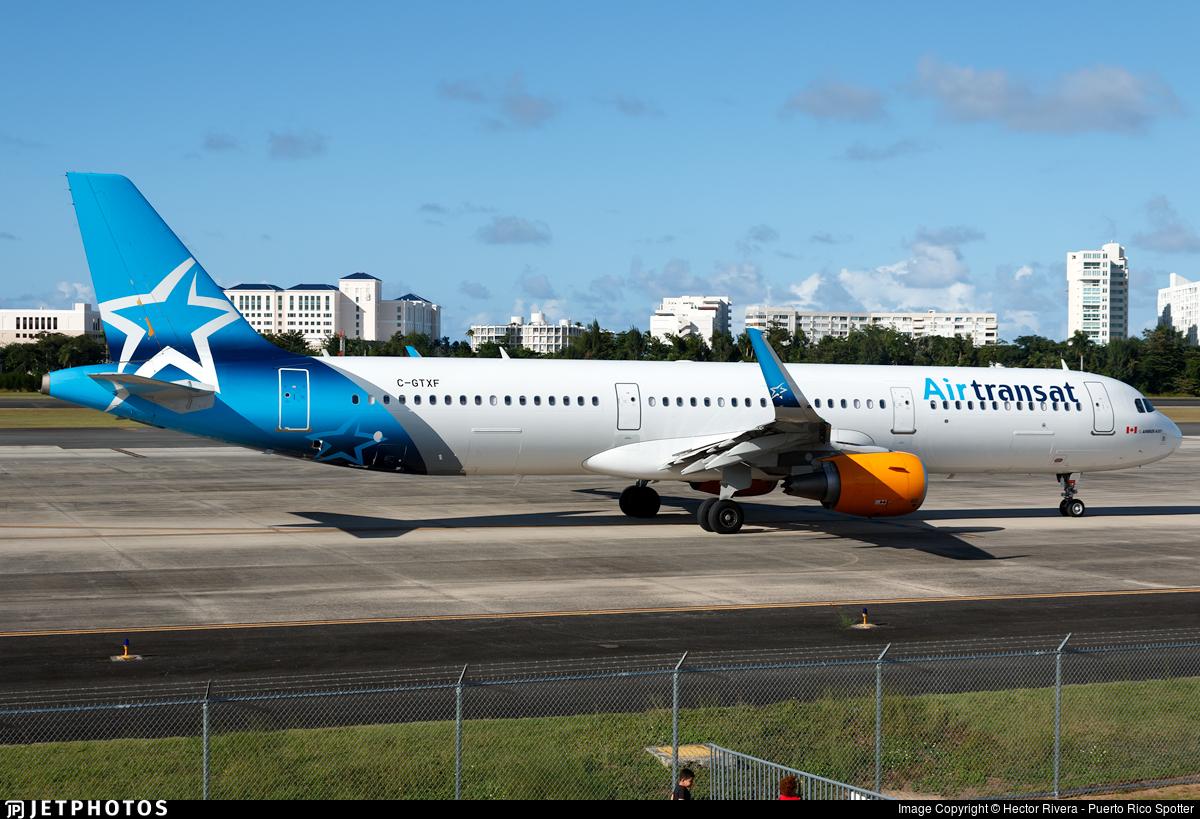 C Gtxf Airbus A321 211 Air Transat Hector Rivera Jetphotos