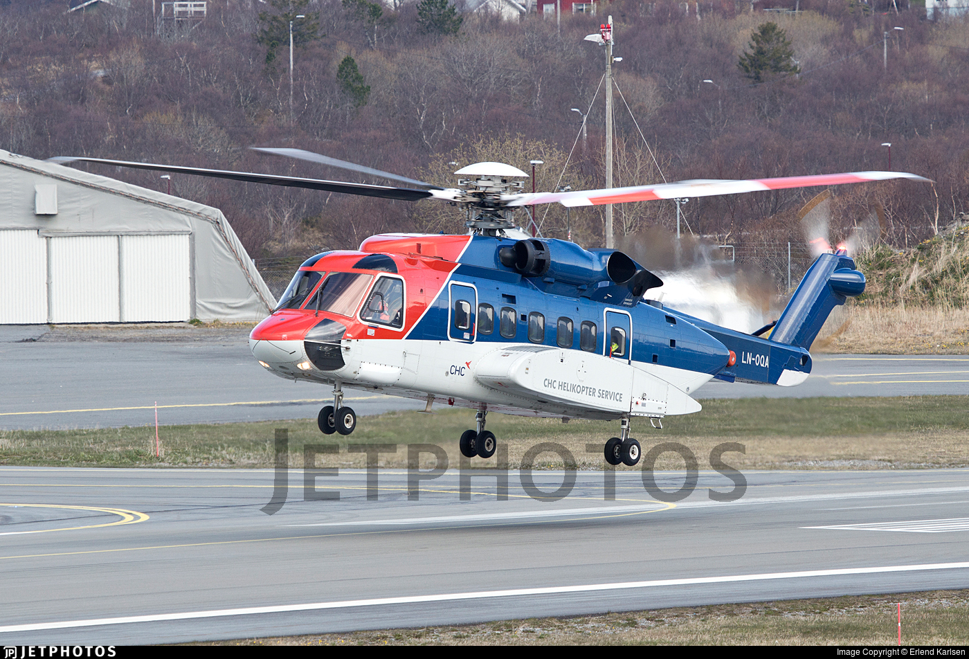 LN-OQA - Sikorsky S-92A Helibus - CHC Helikopter Service
