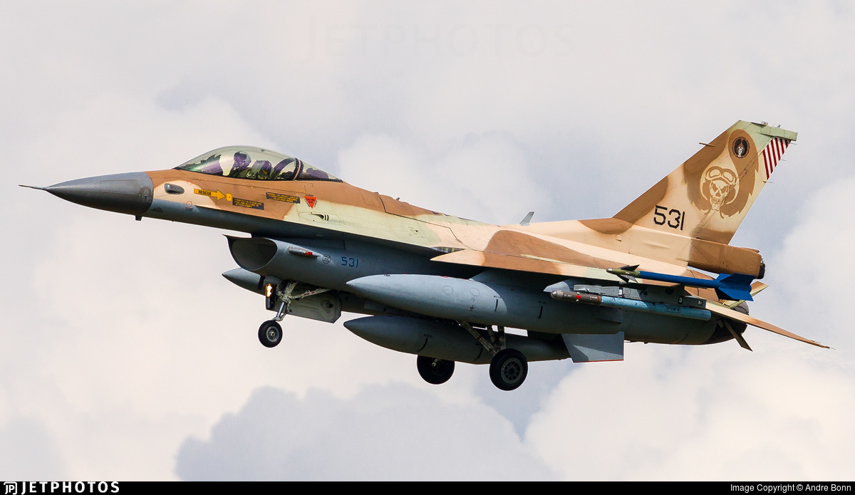 531 - General Dynamics F-16C Barak   - Israel - Air Force
