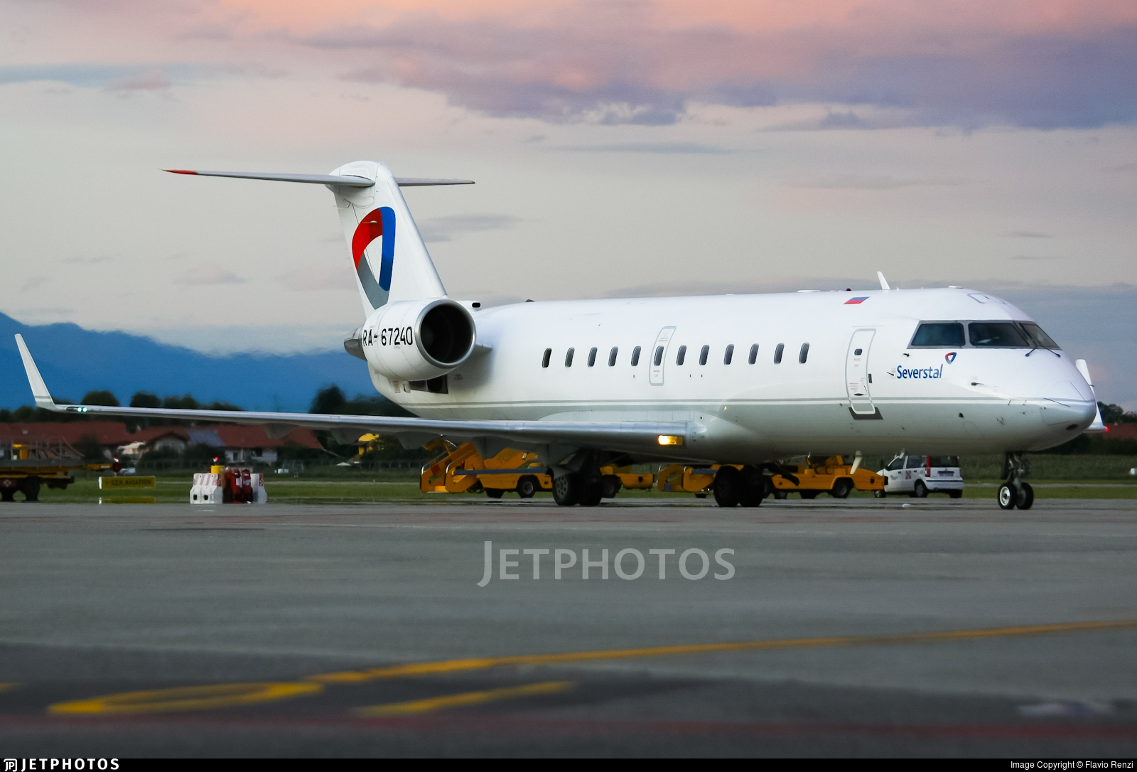 RA-67240 - Bombardier CRJ-200LR - Severstal Air Company