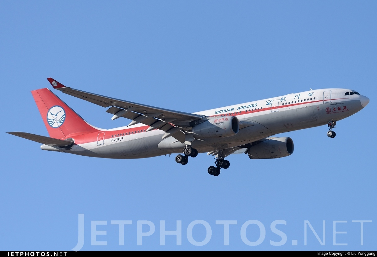B-6535 - Airbus A330-243 - Sichuan Airlines