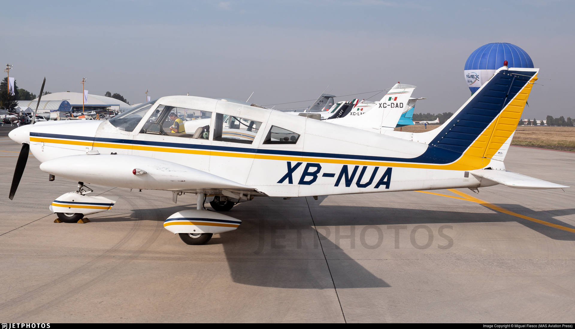 XB-NUA - Piper PA-28-235 Cherokee - Private