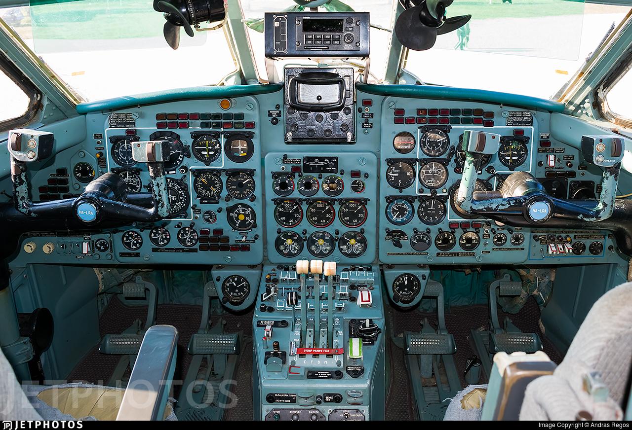 HA-LRA - Yakovlev Yak-40 - Linair