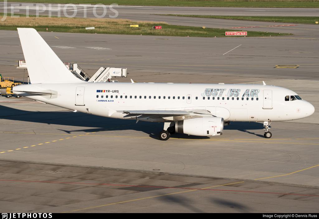 YR-URS | Airbus A319-132 | Just Us Air | Dennis Russ | JetPhotos