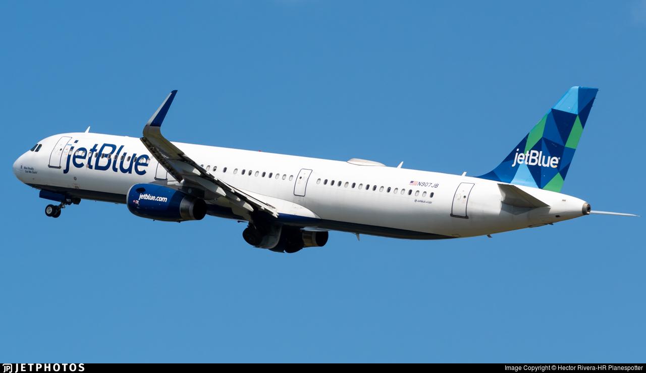 N907JB - Airbus A321-231 - jetBlue Airways
