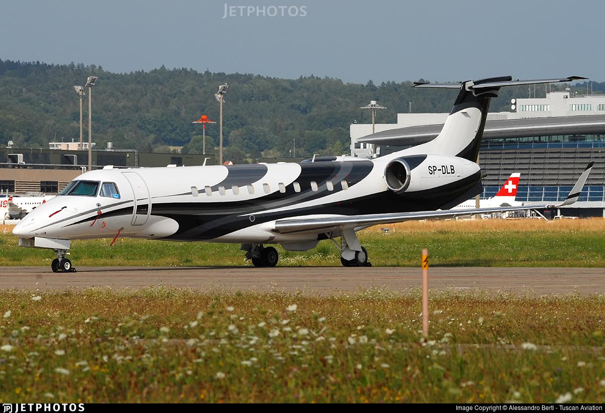 SP-DLB - Embraer ERJ-135BJ Legacy 600 - Blue Jet