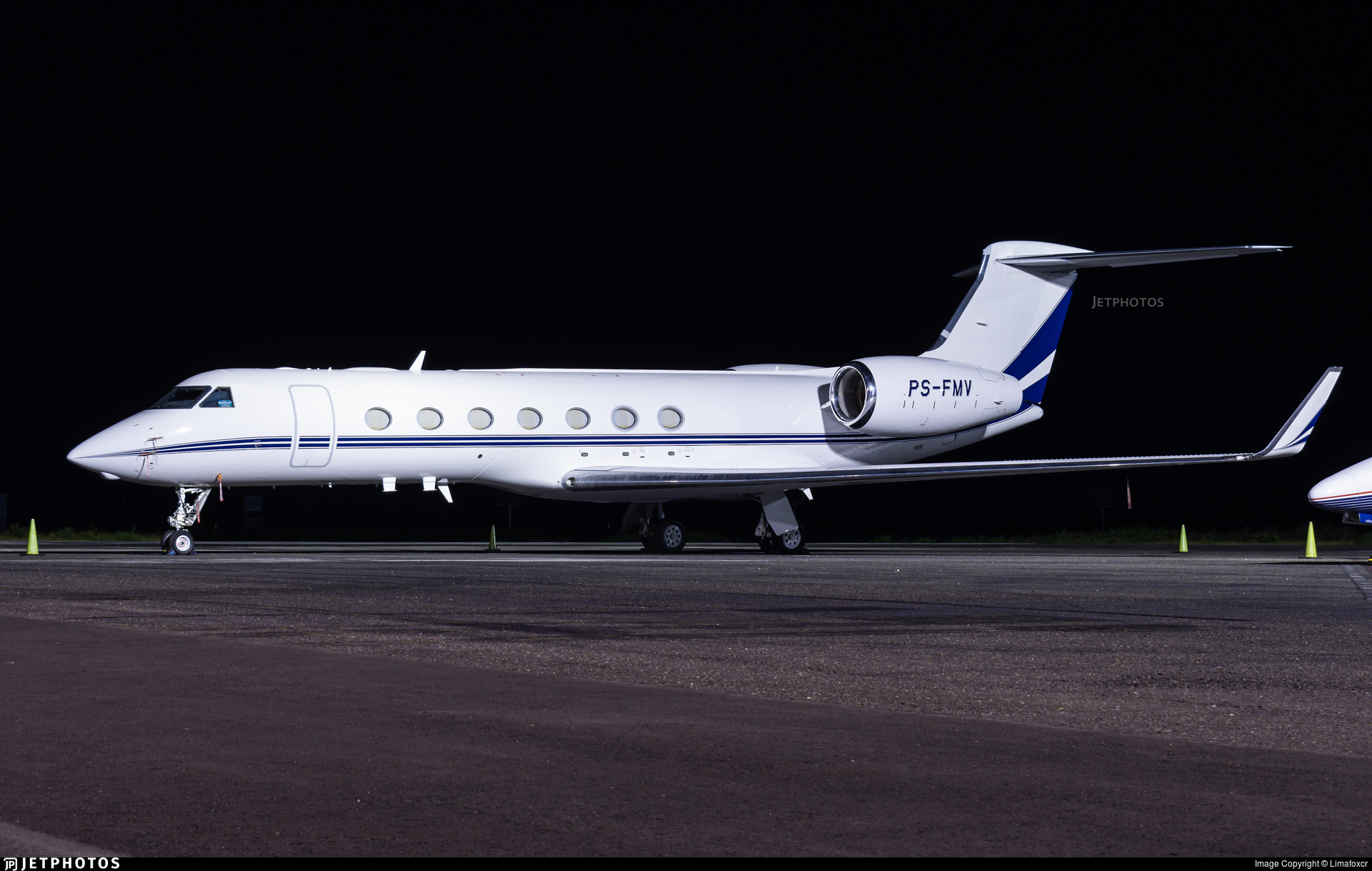PS-FMV - Gulfstream G550 - Private