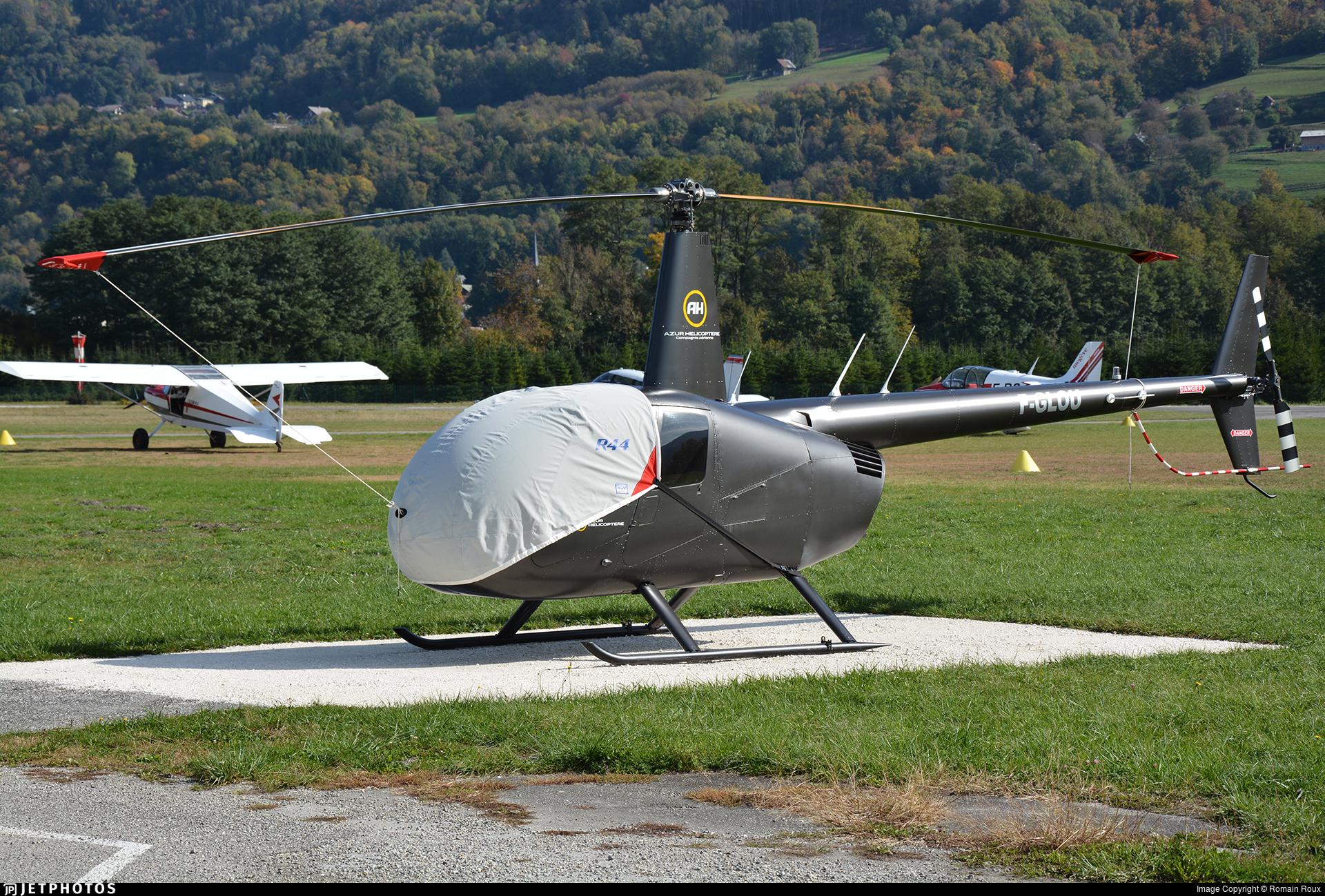 F-GLOU - Robinson R44 Astro - Azur Helicoptere