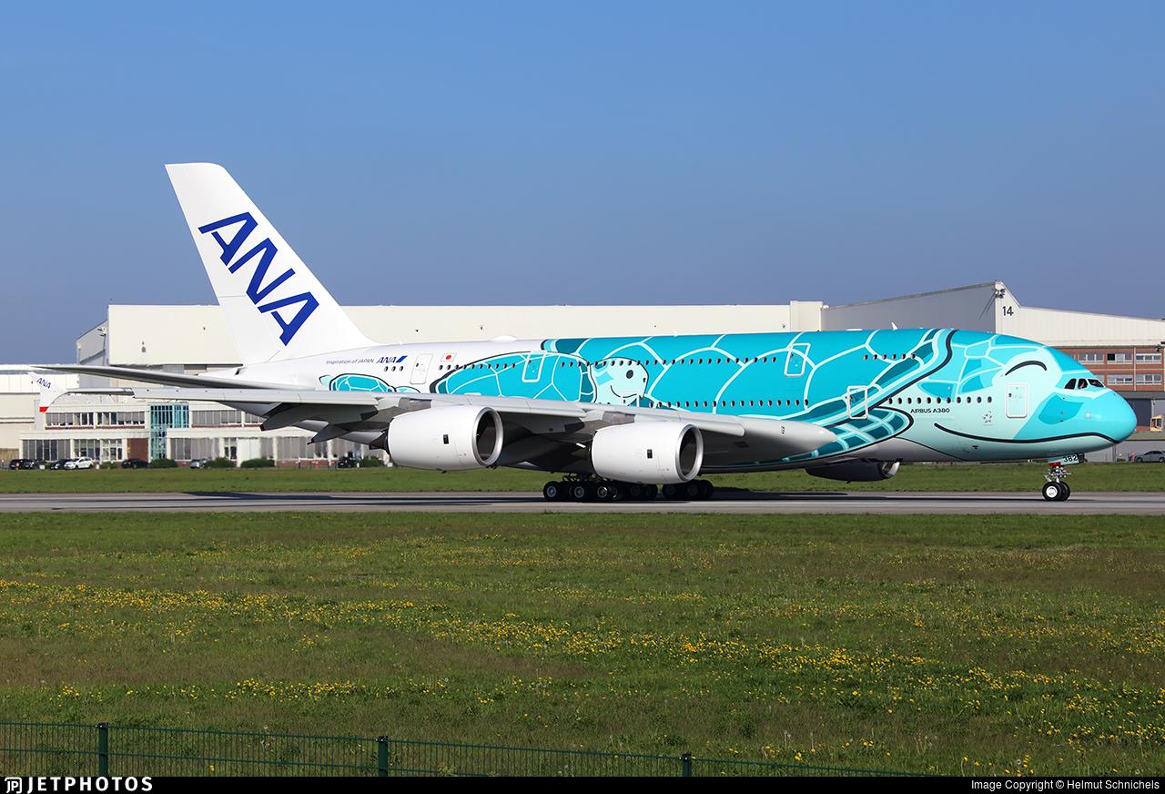 F-WWAF - Airbus A380-841 - All Nippon Airways (ANA)