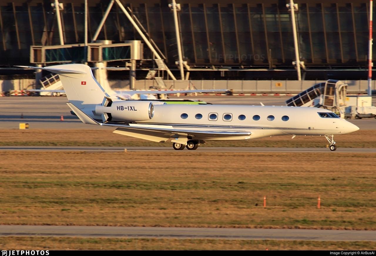 HB-IXL - Gulfstream G650ER - Private