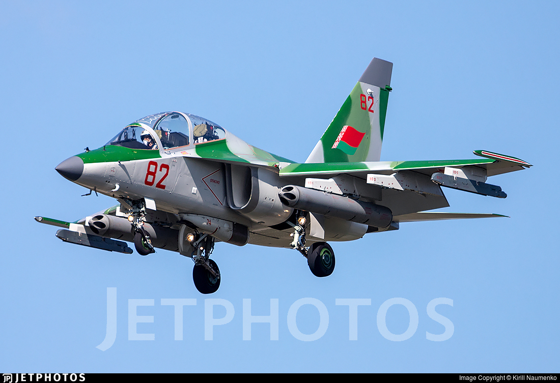 82 - Yakovlev Yak-130 - Belarus - Air Force