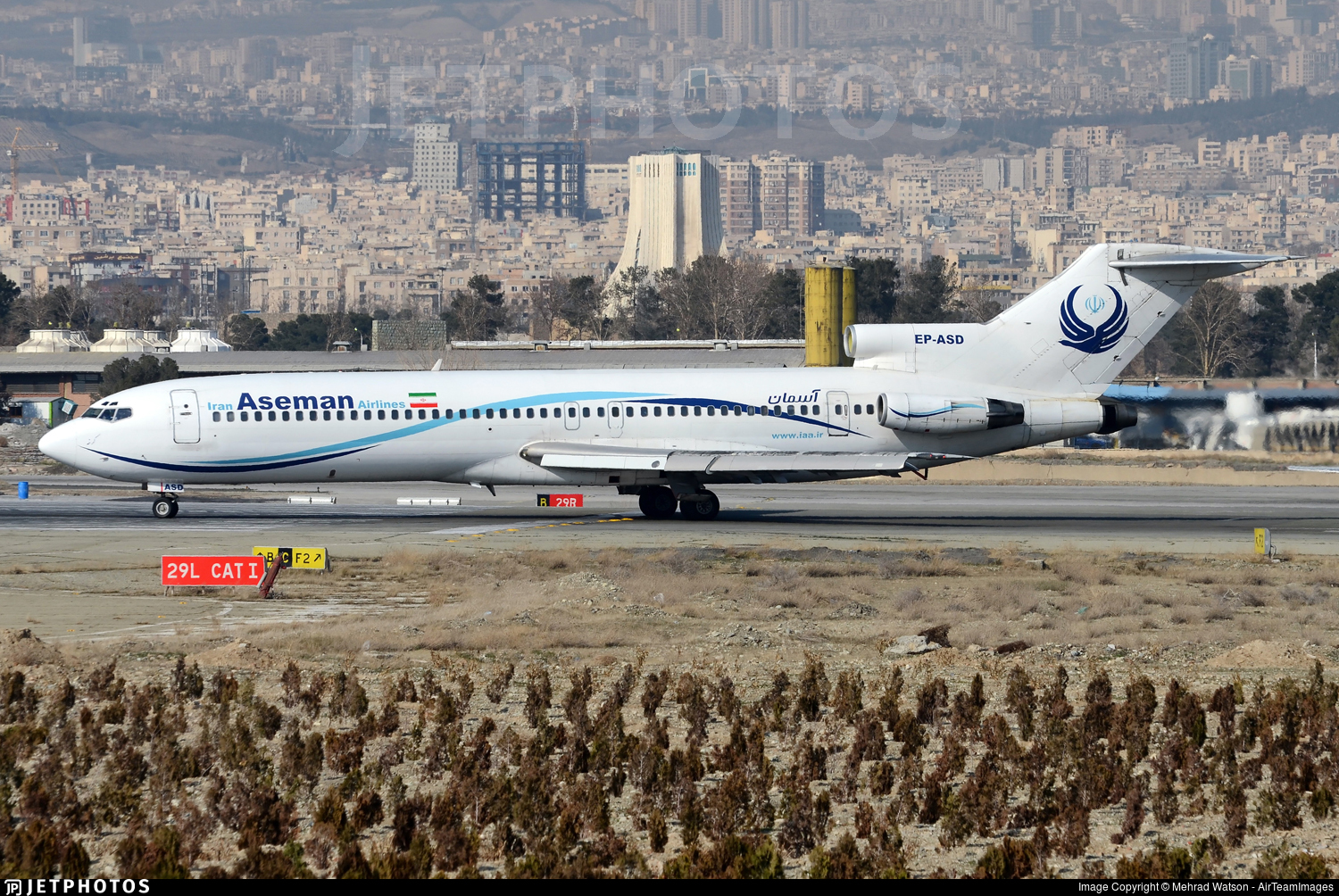EP-ASD - Boeing 727-228(Adv) - Iran Aseman Airlines