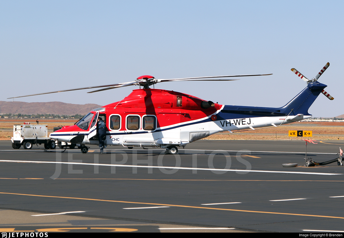 VH-WEJ - Agusta-Westland AW-139 - CHC Helicopters