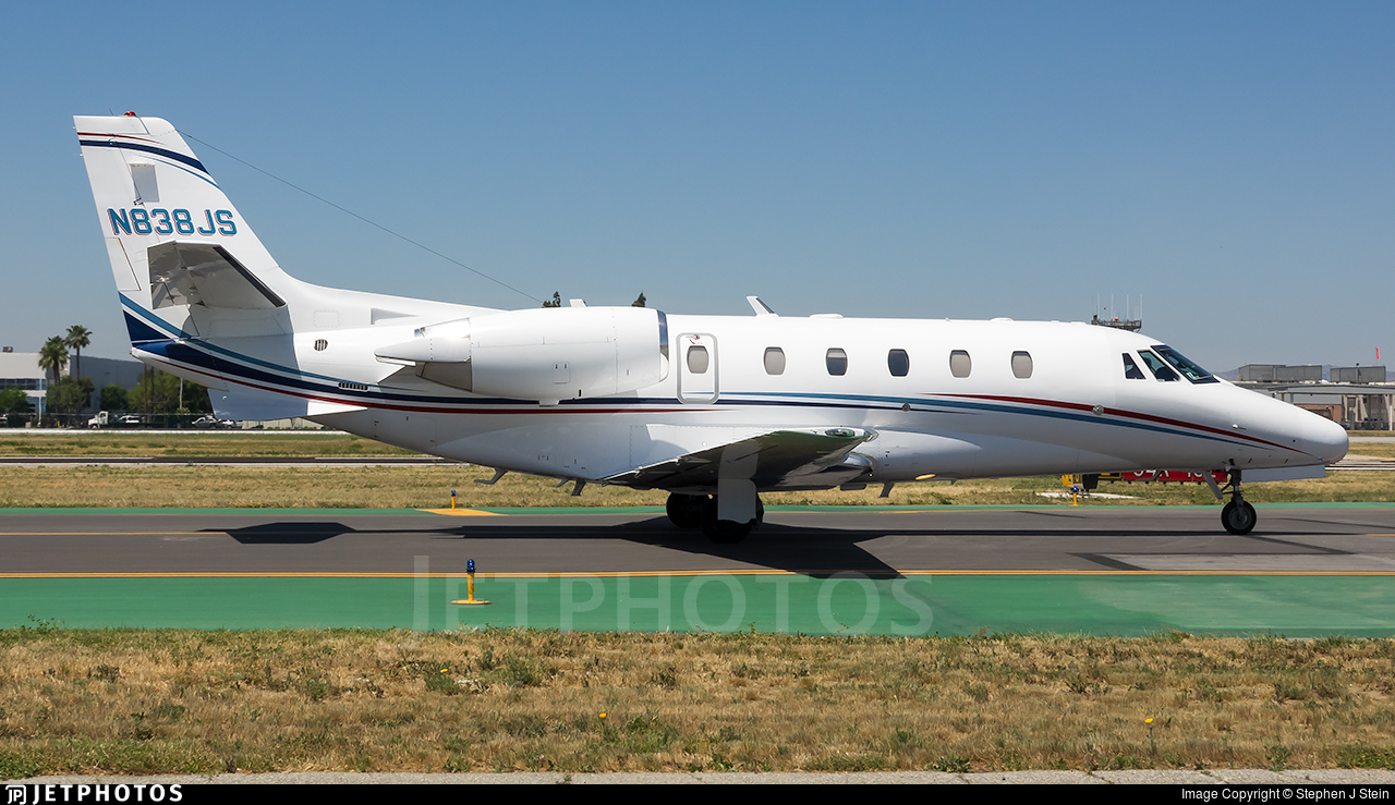 N838JS - Cessna 560XL Citation Excel - Private
