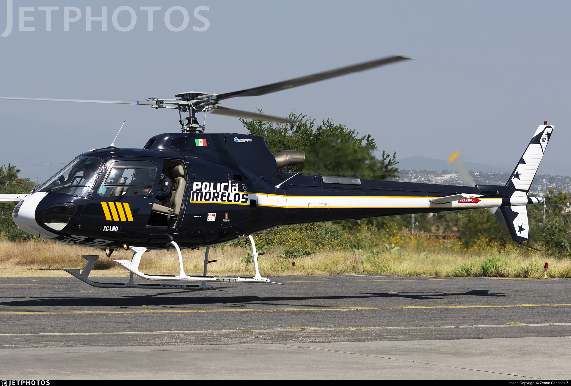 XC-LNQ - Eurocopter AS 350B3 Ecureuil - Mexico - Morelos State Government