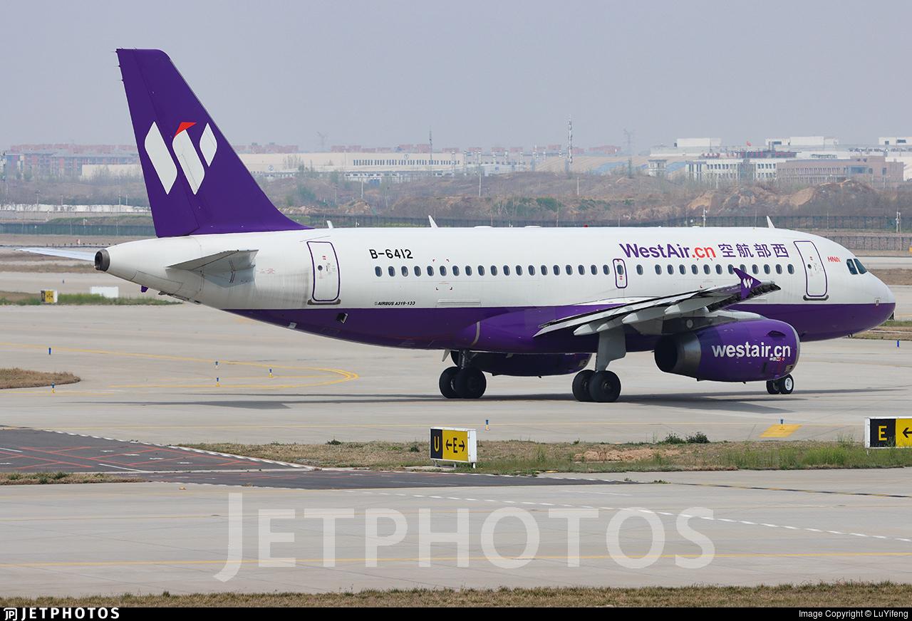 B-6412 - Airbus A319-133 - West Air